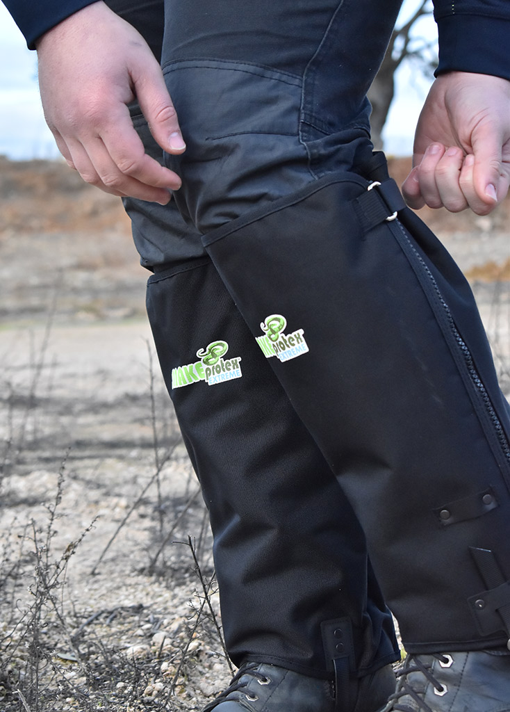 Ensure SnakeProtex Extreme Gaiters are Correctly Fitted