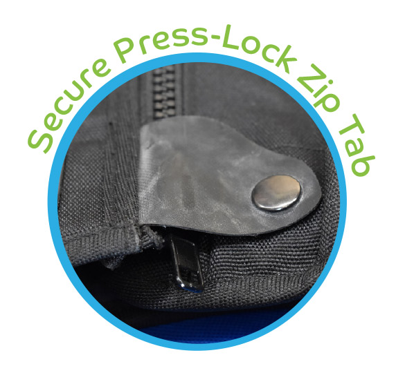 Secure Press-Lock Zip Tab - SnakeProtex Gaiter