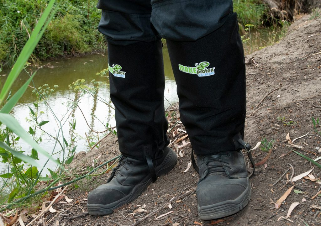 Laratinga Wetalnds Creek Bank - SnakeProtex Extreme Gaiters