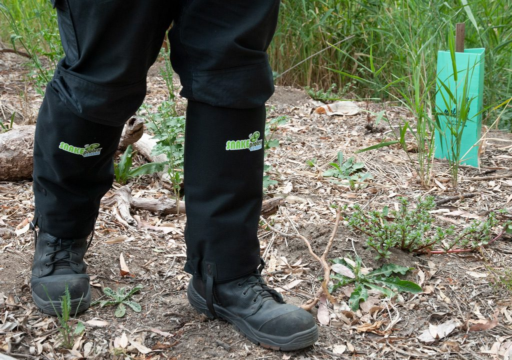Laratinga Wetlands Revegetation Area - SnakeProtex Gaiters