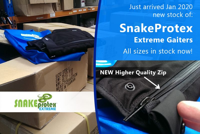SnakeProtex New Stock arrived Januaray 2020