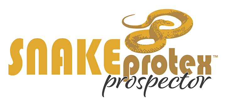 SnakeProtex Prospector Logo | Metal-free design